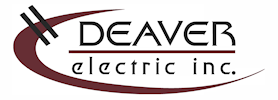 Deaver Electric logo 100h white bg